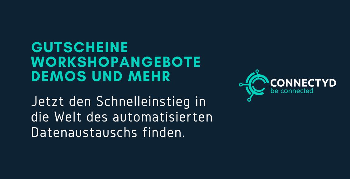 Connectyd Gutscheine Workhops Demoangebote