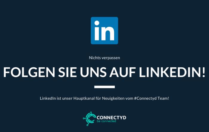 Folge Connectyd auf LinkedIn
