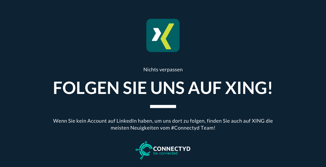 Folge Connectyd auf XING
