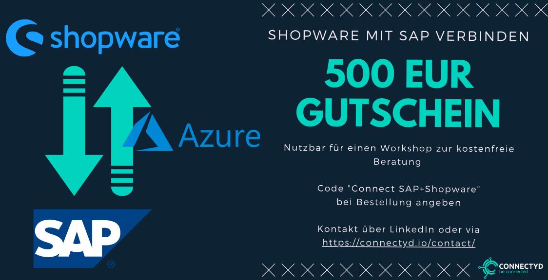 Shopware SAP Gutschein von Connectyd.io